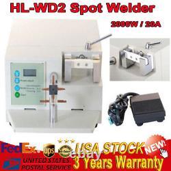 2kw Hl-wdii Dental Lab Spot Welding Machine Oral Orthodontic Heat Treatment 110v