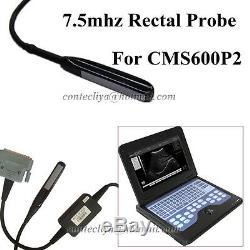 7.5 Mhz Sonde Pour La Marque Rectal Contec B-machine À Ultrasons Scanner Cms600p2, Nouveau