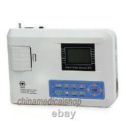 Canal Unique Numérique 12 Lead Ecg/ekg Machine Electrocardiograph Fda