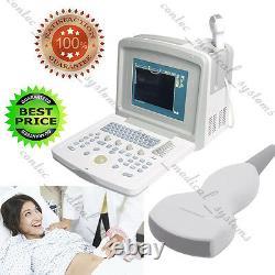 Cms600b3 Bureau Ultrasound Scanner Machine + 3.5 Sonde Convex, Haute Qualité + Ce