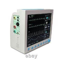 Cms8000 Moniteur Patient Icu Ccu Machine Signe Vital Etco2 Capnograph USA Ce Fda