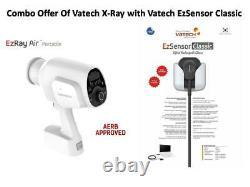 Combo Vatech Ez Ray Air Portable X Ray Machine Avec Rvg Taille 1.5 Livraison Gratuite