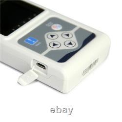 Contec 3-channel 24 Holter Monitor Ecg/ekg System Machine, Stimulateur Cardiaque Analyzer, Etats-unis