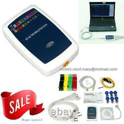 Contec Ecg Workstation System, Portable 12-lead Resting Pc Based Ekg Machine Hot