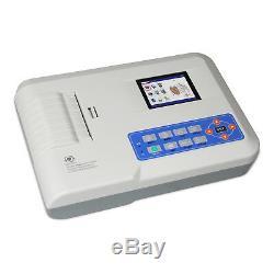 Contec Ecg300g Canaux Trois Numérique Ecg / Machine Électrocardiographe + Usb Sw