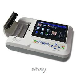 Contec Ecg600g Digital 6 Channel 12 Lead Ecg/ekg Machine Electrocardiographe Usb