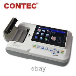Contec Ecg600g Électrocardiographe Ecg/ekg À 12 Fils 6 Canaux, Impression