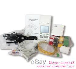Contec Ecg90a Tactile Ecg 12 Dérivations Et Ecg Machine Électrocardiographe Pc Sync Software