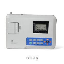 Contec Portable Ecg Moniteur Ecg Machine Électrocardiographe Printer Nouveau