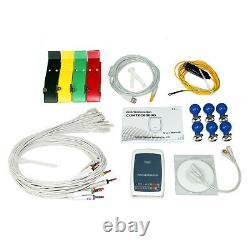 Contec8000g 12-lead Ecg/ekg Station De Travail Analyse Machine Système Sync Pc Logiciel
