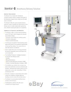 Datascope Anestar S Anesthésie