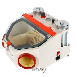 Dental Double Pen Sandblaster Machine Polonaise Twin-pen Sand Blaster Lab Equipment