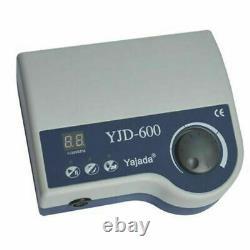 Dental Electric Brushless Micromotor Polisher 60k RPM Polisseur Machine Yjd-600