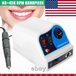 Dental Lab Marathon Electric Micromoteur Polissage Machine +45000 RPM Pièce À Main