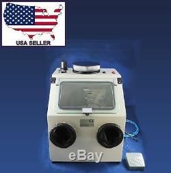Dental Lab Sablage Machine Boîte 026-1 110v Dentq