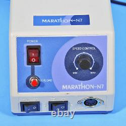 Dental Micro Motor Marathon Machine N7+35k RPM Polissage Dentaire Pièce À Main 220v
