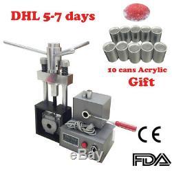 Dentier 400w Dental Lab Flexible Machine Dentistry Injection Système + 10x Acrylique
