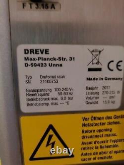 Dreve Drufomat Scan Machine De Pression. Gris. État De Fonctionnement. Lire La Description