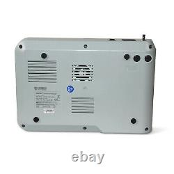Ecg Machine 300g 3 Channel 12 Lead Ekg Digital Electrocardiograph, Printer, Us, Fda