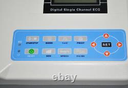 Ecg Portable Ecg Ekg Machine Numérique Un Électrocardiographe Vétérinaire À 1 Canal