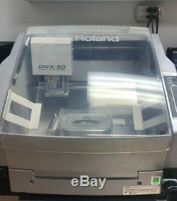 Fraisage Roland Machine Dwx-50