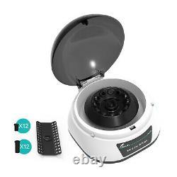 Lab Microcentrifuge Machine Benchtop Centrifuge 2 Rotors Pour 0,2/0,5/1.5/2ml