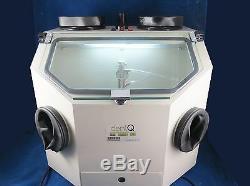 Laboratoire Dentaire Sablage Machine Box 026-2 Lab Sableuse 110v Dentq