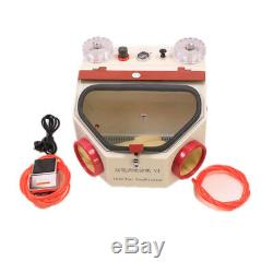 Machine À Métal Double Stylo Laboratoire Dentaire Sablée Laboratoire Dentaire Unité Sablage