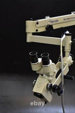 Machine D'agrandissement D'unité De Microscope Dentaire Seiler M902 Pour Pièces/repair