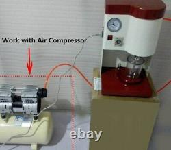 Machine De Mélangeur De Table De Mélangeur Sous Vide Dentaire Fonctionnent Avec Le Compresseur D'air 110v/220v