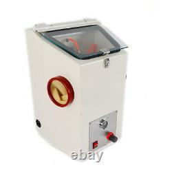 Machine Dentaire De Dynamitage Recyclable Sandblaster Sand Blaster Lab Equipment 110v