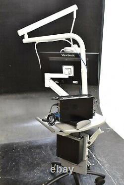 Magnavu Microscope Électronique De Fonctionnement Unité Dentaire Grossissant La Machine