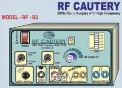 Meilleure Machine Électrochirurgical Chirurgicale De Cautery 2mhz Générateur D'électrocautery