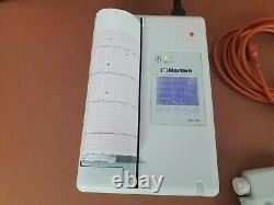 Mortara Eli 230 Ecg Machine Avec Module D'acquisition Sans Fil 12 Plomb Ecg