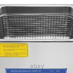 Nettoyeur À Ultrasons 22l Nettoyage Commercial Industrie Machine Dégivrants Avec Minuterie Nouveau