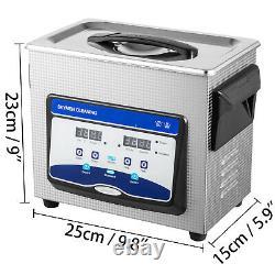 Nettoyeur À Ultrasons 3.2l 60/120w Degas Nettoyeur À Ultrasons Numériques De Machine