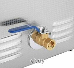 Nettoyeur Ultrasonique 10l Nouvelle Machine De Nettoyage Numérique Chauffée Réservoir 110v 2.5g Etats-unis