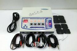 New Professional Utilisation Privée 4 Canaux Électrothérapie Machine Pulser Massager Ujfh