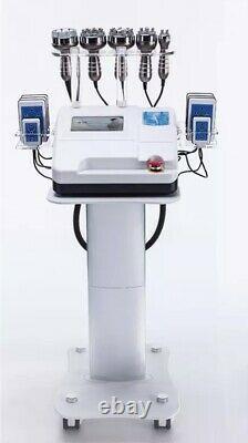 Nouveau Corps De Cavitation Remodelage 6 En 1 Laser Rf Réduire Les Graisses, Lipo & Beauty Machine