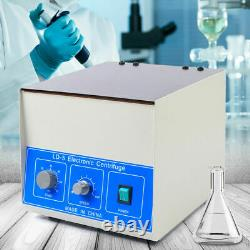 Nouveau Laboratoire Dentaire Benchtop Centrifuge Electric Practice Centrifugal Machine 850ml