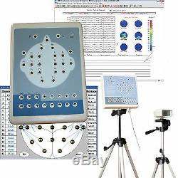 Numérique 32 Canaux Eeg Machine Système De Cartographie Recorder + Logiciel, Trépied, Kt88-3200