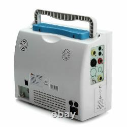 Patient Monitor 6 Paramètres Icu Ccu Vital Sign Machine Cardiaque Avec Sac/boîte