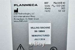 Planmeca Planmill 40 Laboratoire Dentaire Médecine Dentaire Cad / Cam Milling MILL Machine