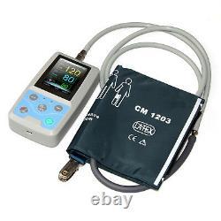 Pm50 Handheld Moniteur Patient Signes Vitaux Moniteur 24h Enregistreur Pni Machine Spo2