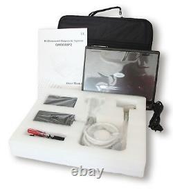 Portable B-ultrasound Scanner Machine Convexe Linéaire Cardiaque Transvaginal 4 Sonde