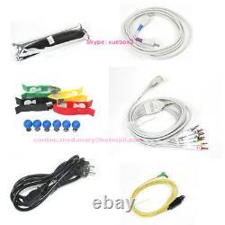 Portable Ecg/ekg Machine Numérique 12 Canaux 12 Électrocardiographe De Plomb, Touch