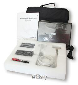 Portable Pour Ordinateur Portable Entièrement Numérique Machine À Ultrasons Scanner, Galbés Et 2 Sondes Linéaires