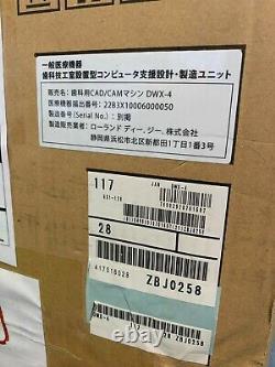 Roland Dwx-4 Compact Dental Milling Machine, Fabriqué Au Japon