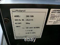 Roland Noritake Katana Dwx-50n Fraiseuse Dentaire 5 Pièces Axis Seulement Ramassage