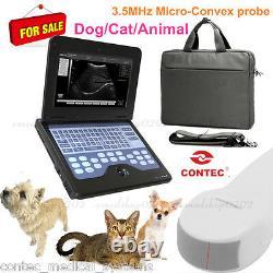 Scanner À Ultrasons Vétérinaires De La Fep Chien/cat Machine Médicale Avec Sonde Microconvexe